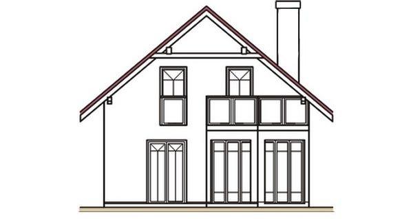 Pohľad 3. - Klasický dom s podkrovím
