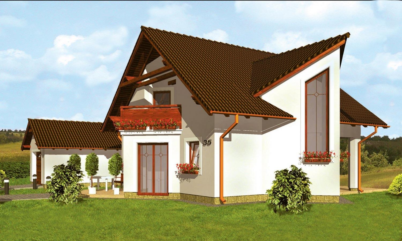 projekt domu HARMONIA 35