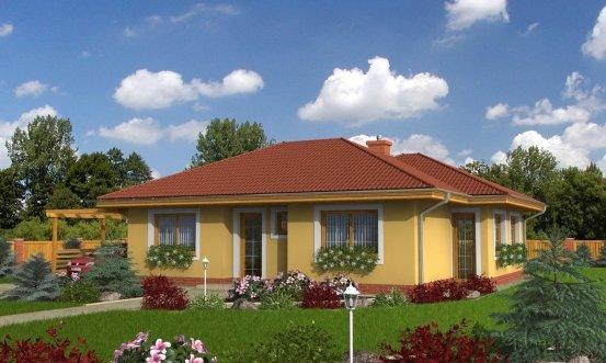 projekt domu HAVAJ