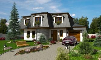Exkluzívny dom s podkrovím do tichého prostredia