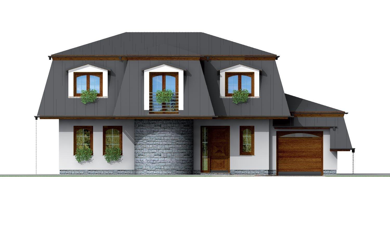 Pohľad 1. - Exkluzívny dom s podkrovím do tichého prostredia