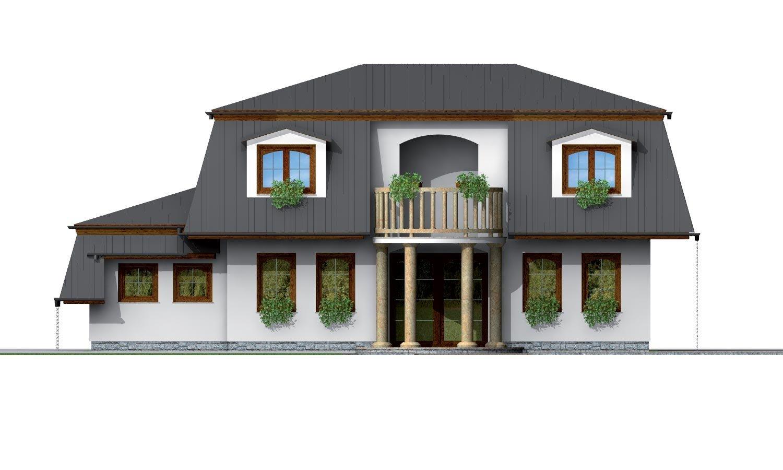 Pohľad 3. - Exkluzívny dom s podkrovím do tichého prostredia