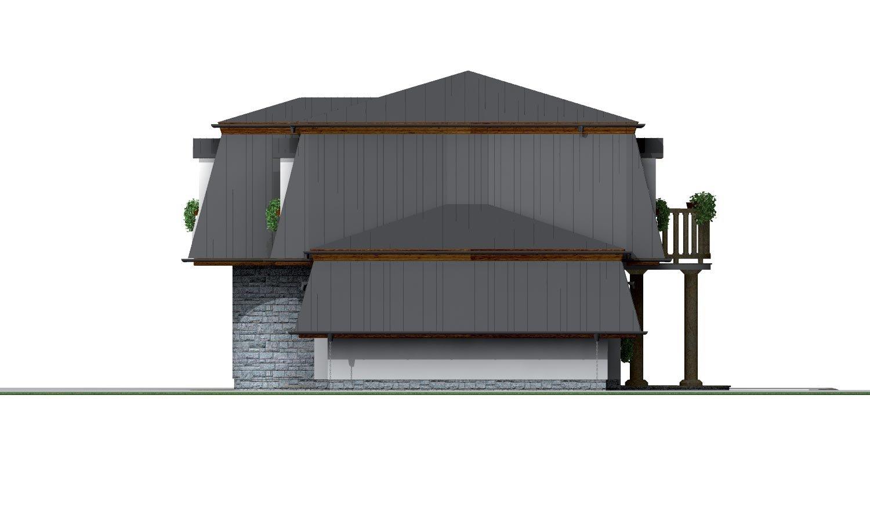 Pohľad 4. - Exkluzívny dom s podkrovím do tichého prostredia