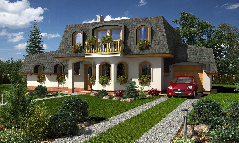 projekt domu HORIZONT 64