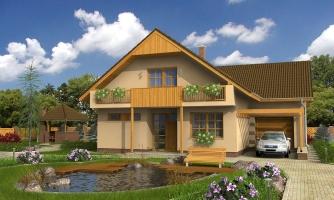 Dom s garážou vhodný ako dvojdom