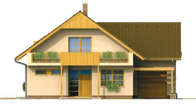 Pohľad 1. - Dom s garážou vhodný ako dvojdom