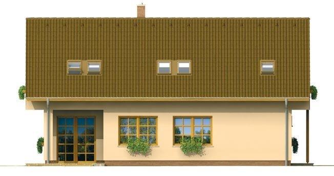 Pohľad 2. - Dom s garážou vhodný ako dvojdom
