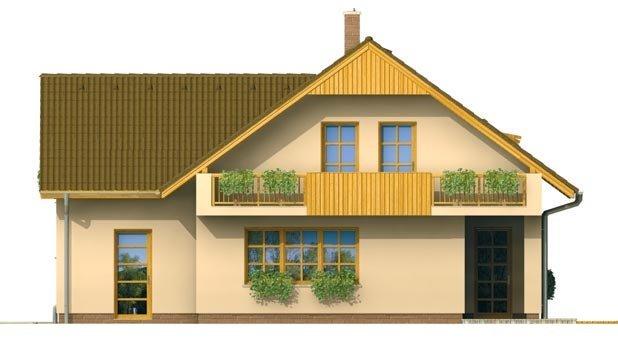 Pohľad 3. - Dom s garážou vhodný ako dvojdom