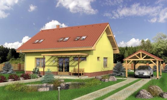 projekt domu JUNIOR