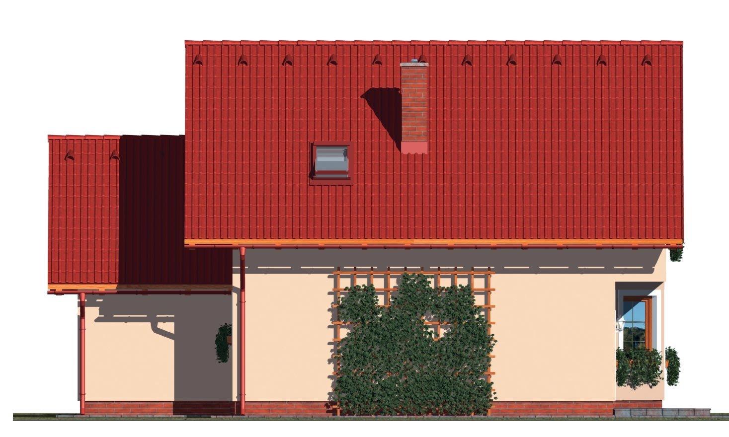 Pohľad 3. - Obľúbený rodinný dom s garážou.