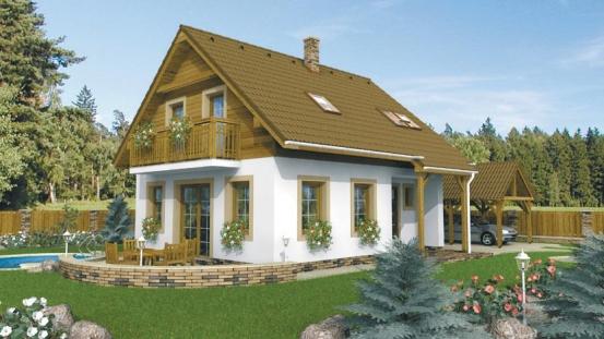 projekt domu KLASSIK 104
