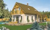 Podkrovný dom na úzky pozemok