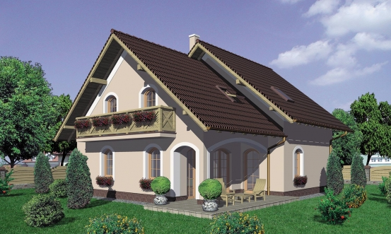 projekt domu KLASSIK 112