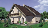 Projekt domu s garážou