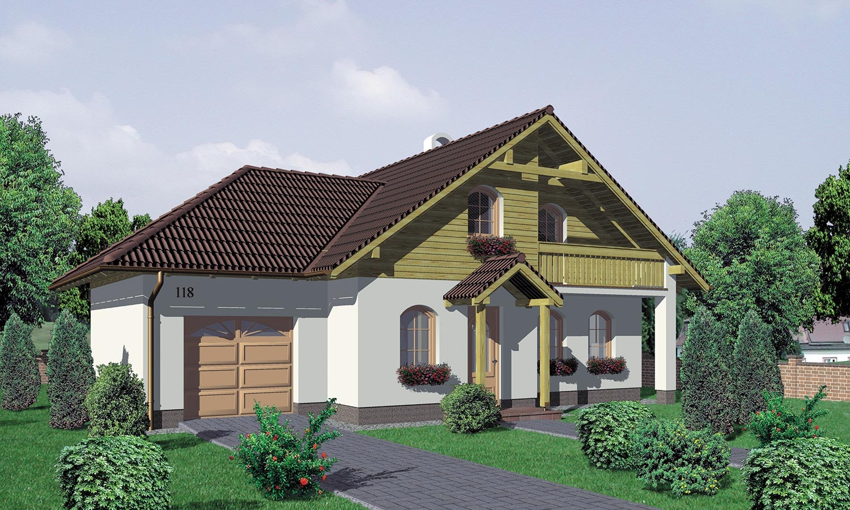 projekt domu KLASSIK 118