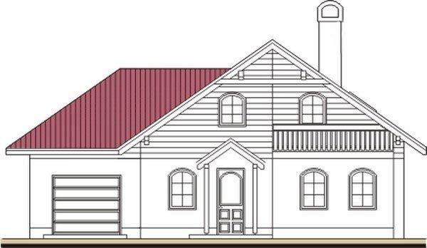 Pohľad 1. - Podkrovný dom so suterénom a garážou, vhodný aj ako dvojdom.