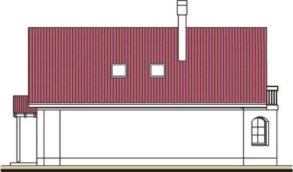 Pohľad 2. - Podkrovný dom so suterénom a garážou, vhodný aj ako dvojdom.