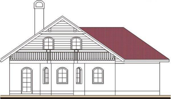 Pohľad 3. - Podkrovný dom so suterénom a garážou, vhodný aj ako dvojdom.