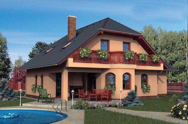 projekt domu KLASSIK 125 BRNO