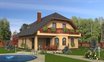 projekt domu KLASSIK 125