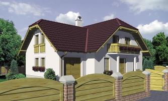 Dom s garážou a rozľahlým suterénom, vhodný ako dvojdom