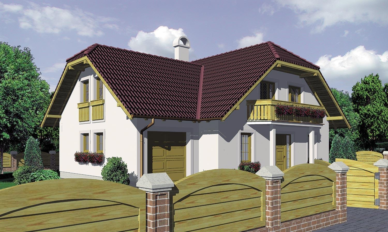 projekt domu KLASSIK 127