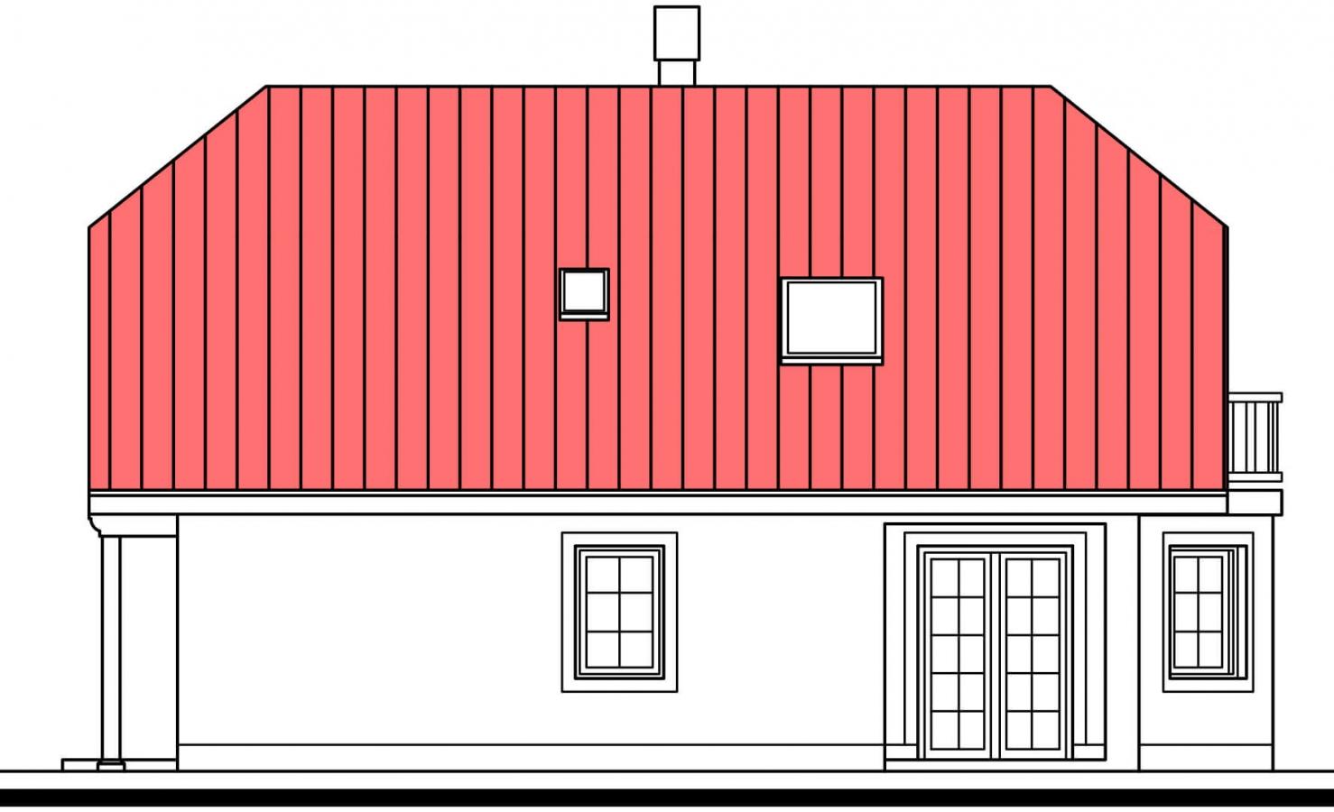 Pohľad 2. - Dom s garážou a rozľahlým suterénom, vhodný ako dvojdom