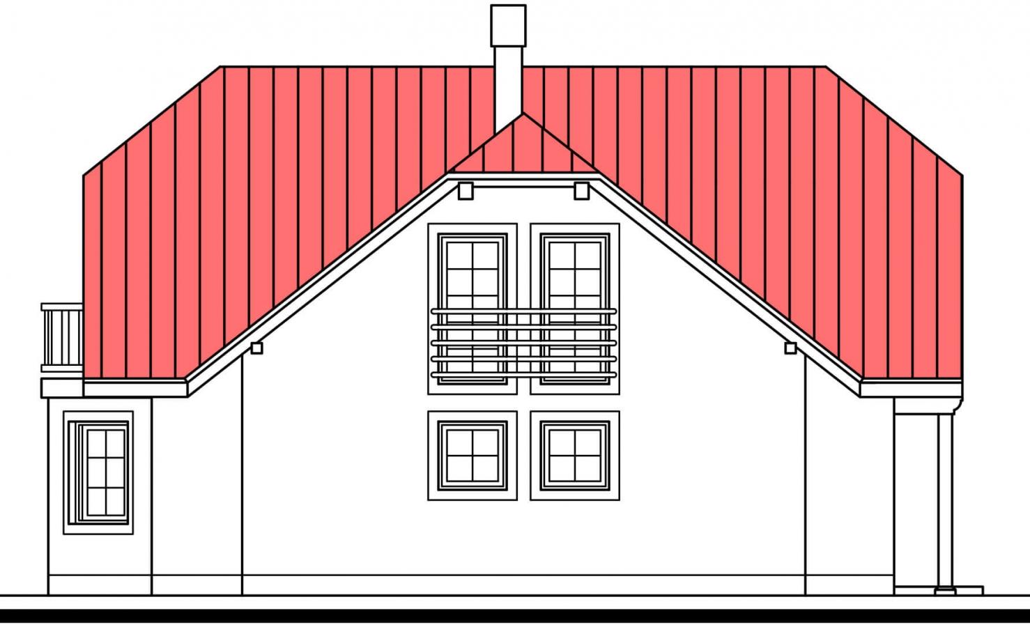 Pohľad 4. - Dom s garážou a rozľahlým suterénom, vhodný ako dvojdom