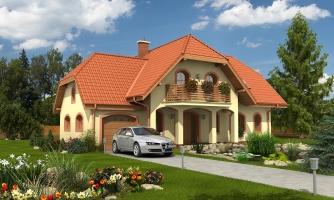 Elegantný veľký dom so suterénom, vhodný ako dvojdom.