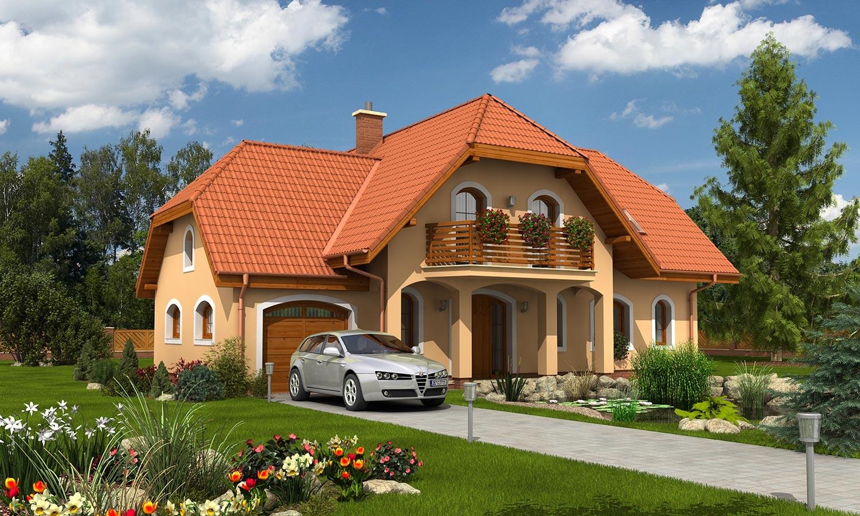 projekt domu KLASSIK 128