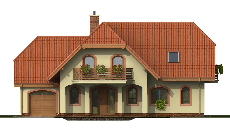 Pohľad 1. - Elegantný veľký dom so suterénom, vhodný ako dvojdom