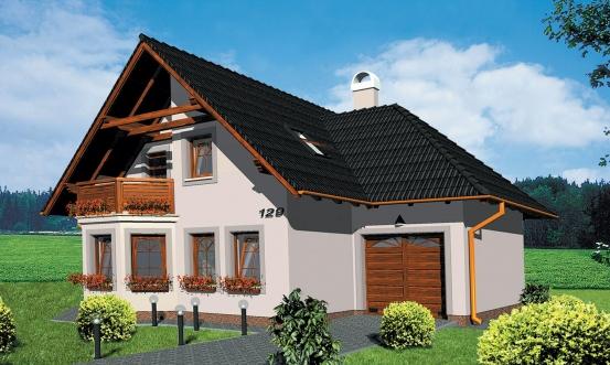 projekt domu KLASSIK 129