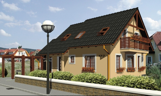 projekt domu KLASSIK 132