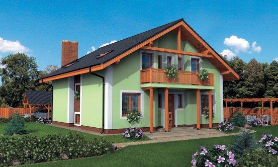 projekt domu KLASSIK 133