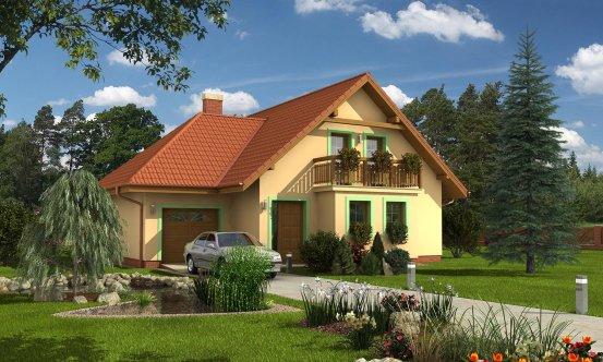 projekt domu KLASSIK 138
