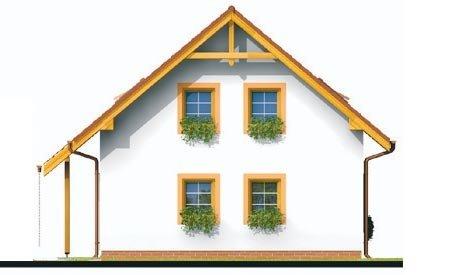 Pohľad 4. - Podkrovný rodinný dom