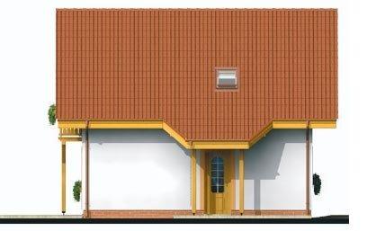 Pohľad 1. - Podkrovný rodinný dom