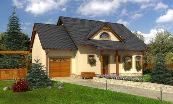 projekt domu KLASSIK 141