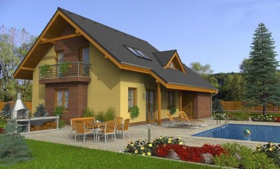 projekt domu KLASSIK 142