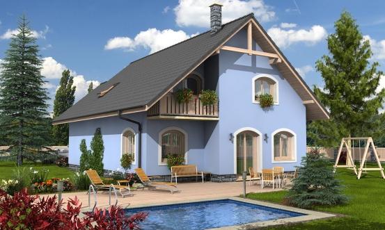 projekt domu KLASSIK 143
