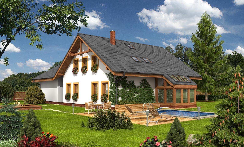 projekt domu KLASSIK 145