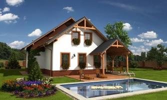 Klasický rodinný dom s izbou na prízemí