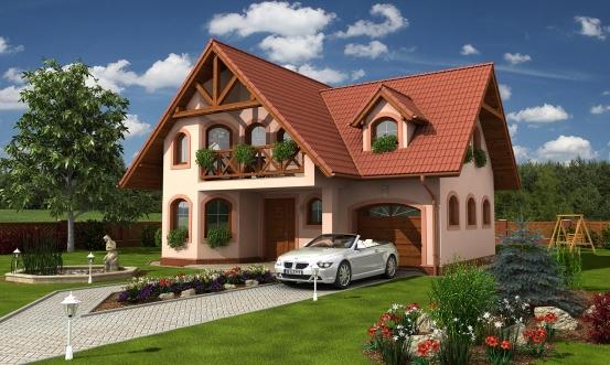 projekt domu KLASSIK 148