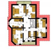 Pôdorys poschodia - KLASSIK 148