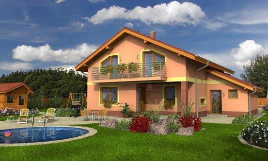 projekt domu KLASSIK 150
