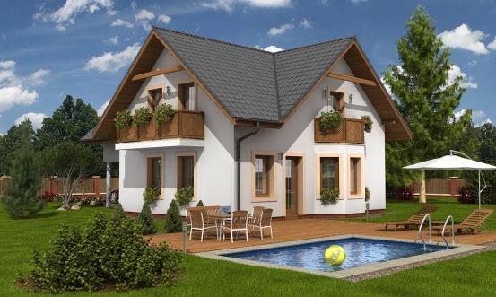 projekt domu KLASSIK 152