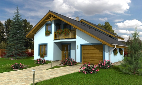 projekt domu KLASSIK 153