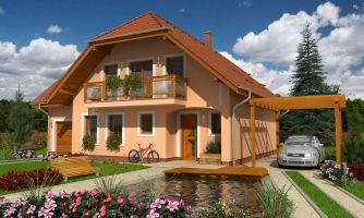 Veľký exkluzívny podkrovný rodinný dom s izbami na prízemí