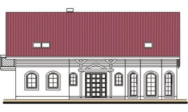 Pohľad 1. - Exkluzívny dom s dvomi izbami na prízemí a obytným podkrovím