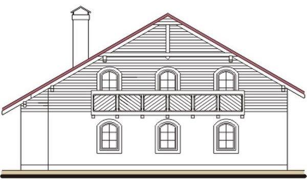 Pohľad 2. - Exkluzívny dom s dvomi izbami na prízemí a obytným podkrovím